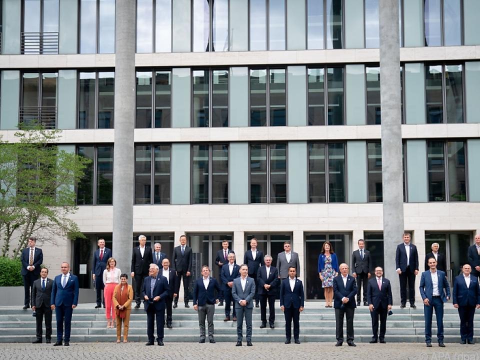 Informelles EU-Außenministertreffen in Berlin