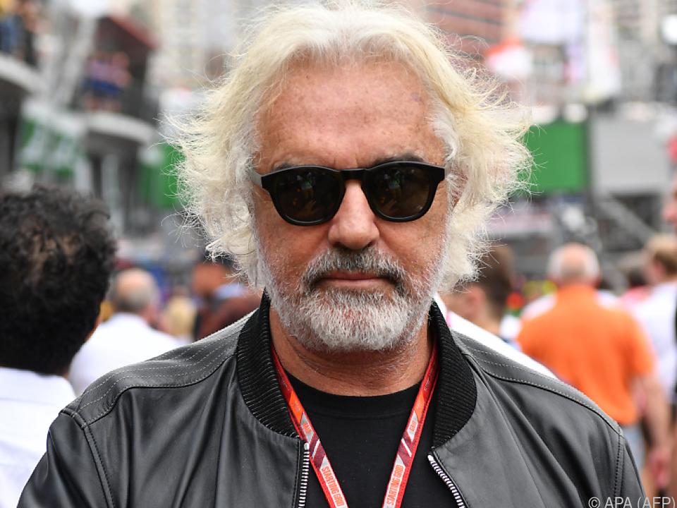 Italienischer Geschäftsmann Flavio Briatore