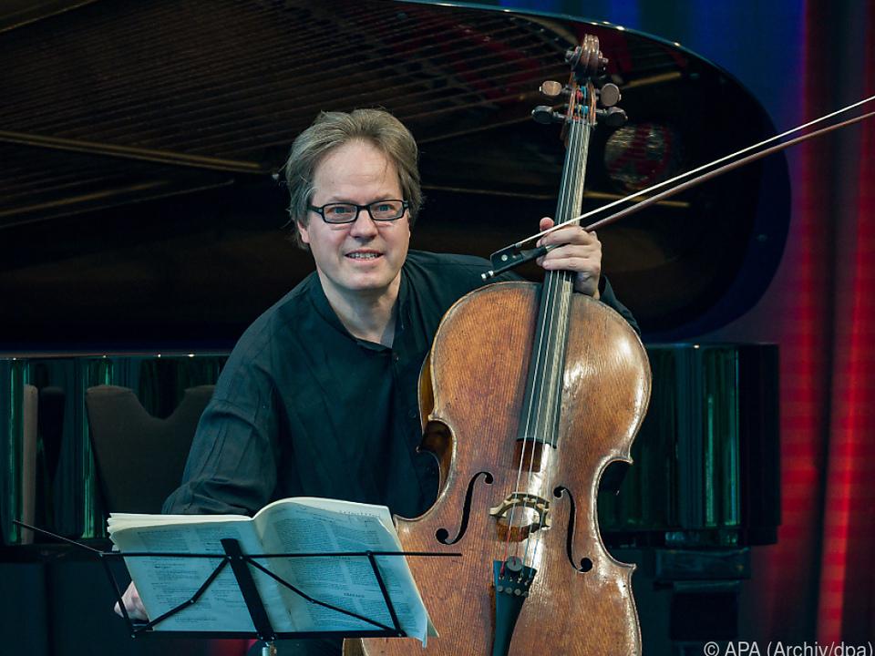 Jan Vogler spielt auch das erste Live-Konzert
