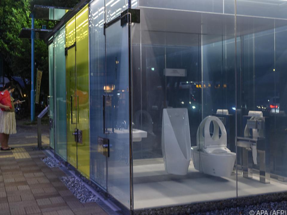 Japan bekannt für seine High-Tech-Toiletten
