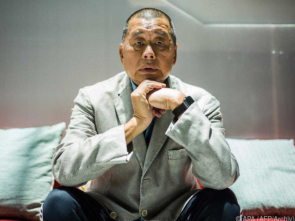 Hongkong: Kritischer Verleger und Aktivist Jimmy Lai festgenommen