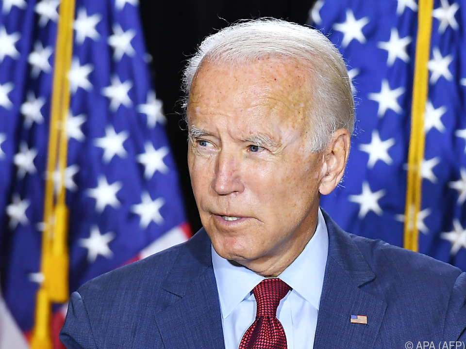 Joe Biden wird offiziell zum Präsidentschaftskandidaten gekürt