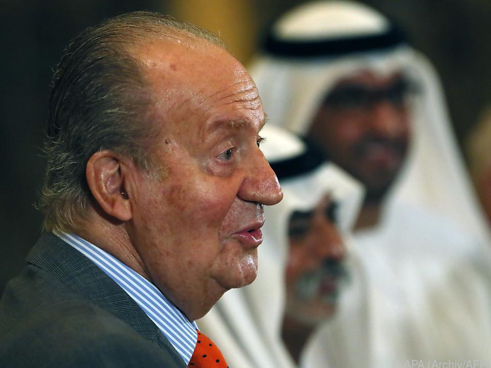 Juan Carlos seit August im Exil