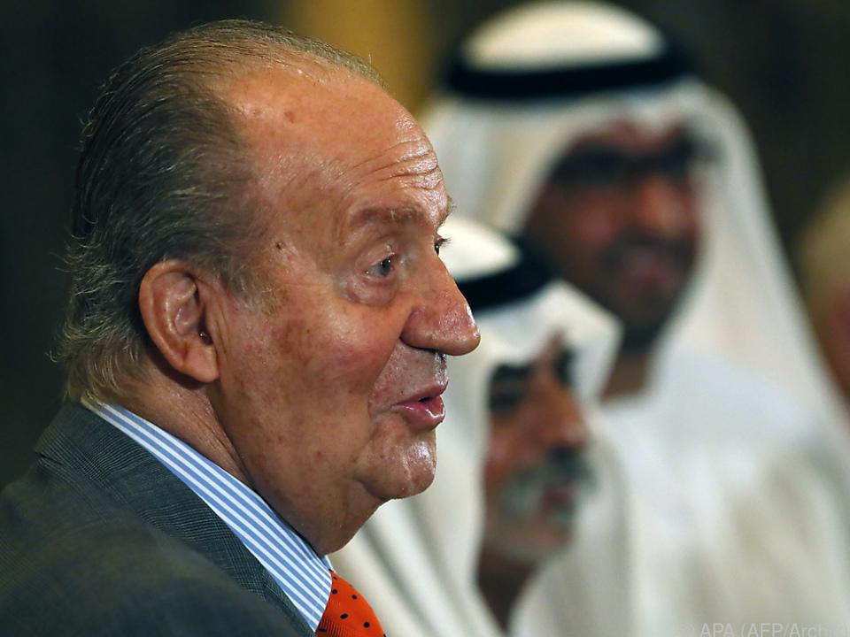 Juan Carlos setzte sich in die Emirate ab