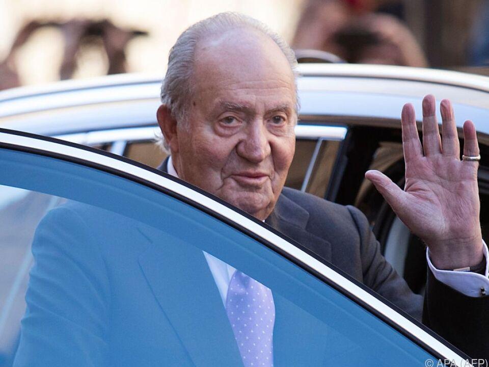 Juan Carlos will sich aus Spanien verabschieden