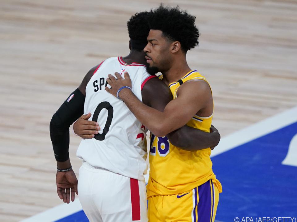 Lakers enttäuschten, gaben aber den fairen Verlierer