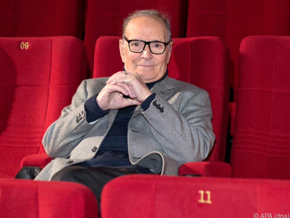 Legendärer Filmmusik-Komponist Ennio Morricone