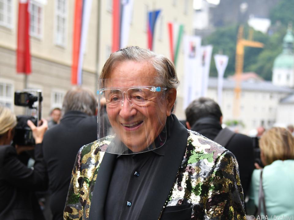 Lugner vor seinem Bruch in Salzburg