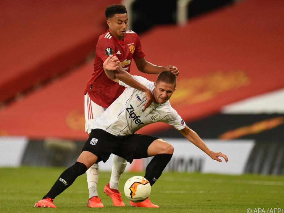 ManUnited wirft den LASK mit 2:1 aus der Europa-League