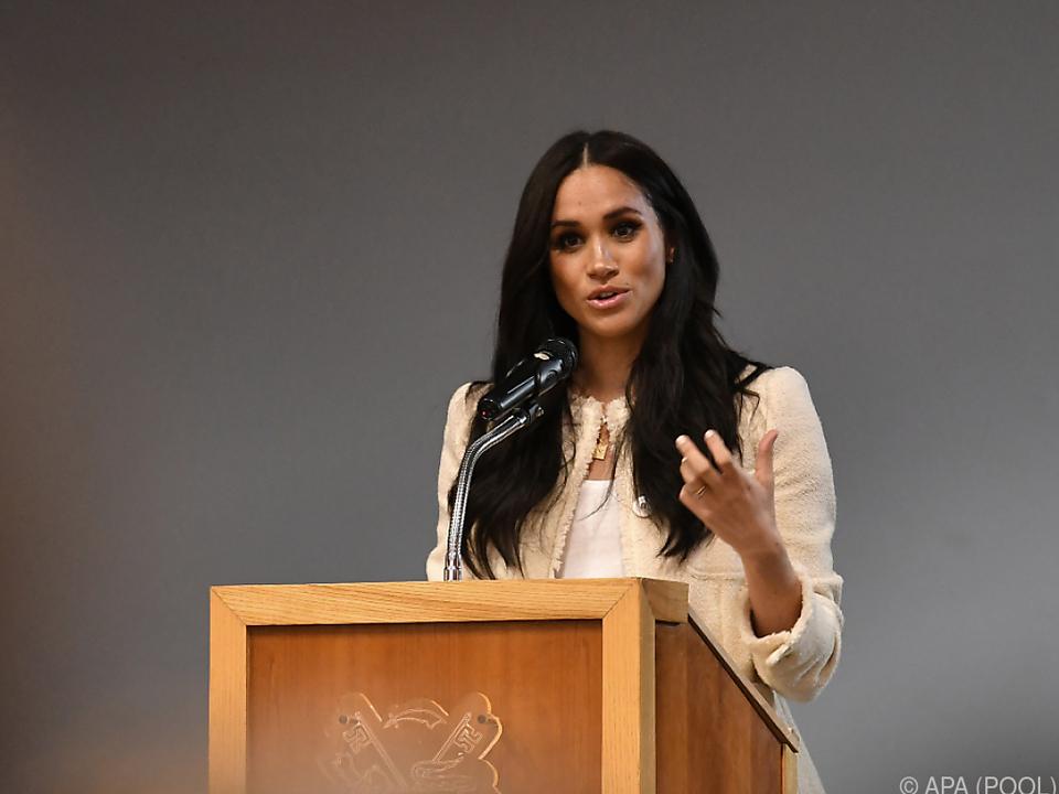 Meghan nimmt angeblich an einer Diskussion teil