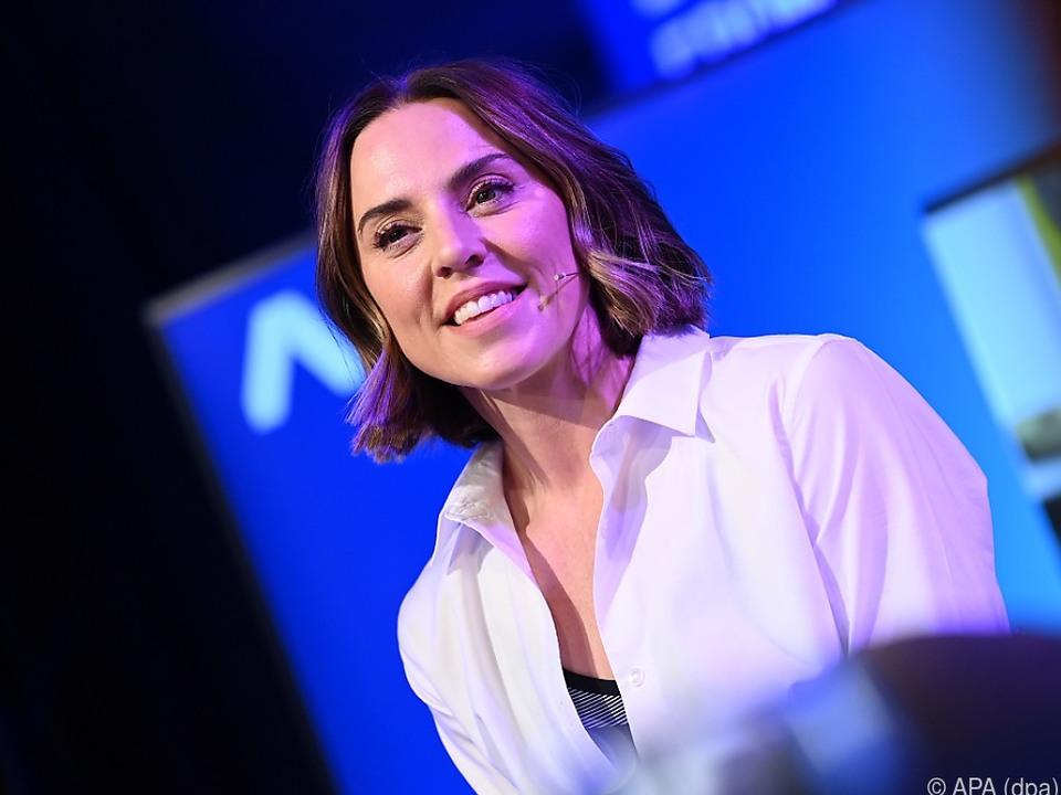 Melanie Chrisholm zu Gast in Berlin