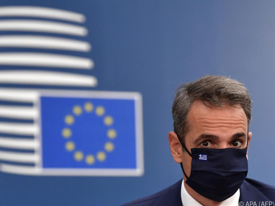 Mitsotakis betont Rechtsstaatlichkeit Griechenlands