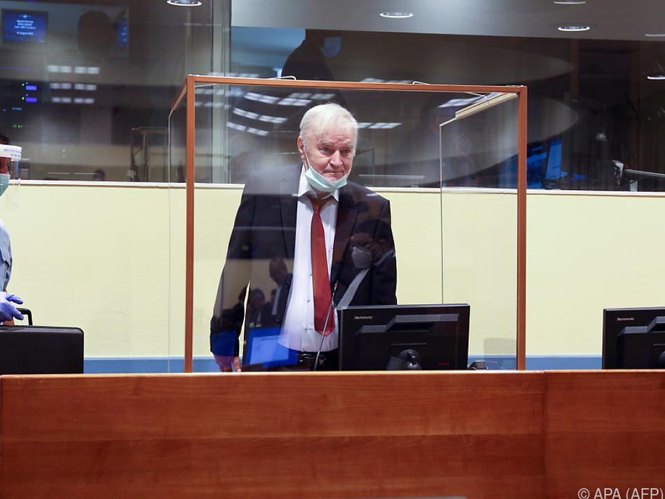 Mladic will Aufhebung der lebenslangen Haft