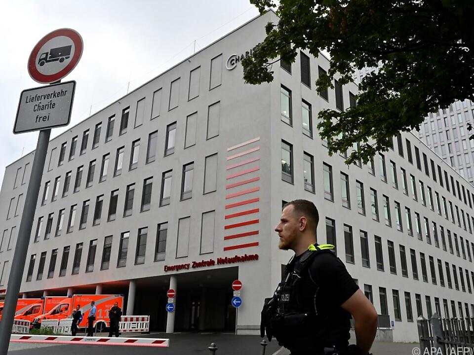 Nawalny wird in der Berliner Charite behandelt