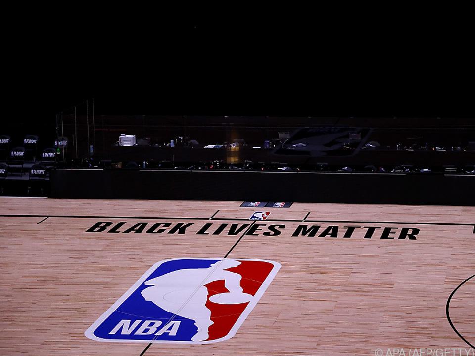 NBA-Spieler hatten aus Protest Play-off-Spiele boykottiert