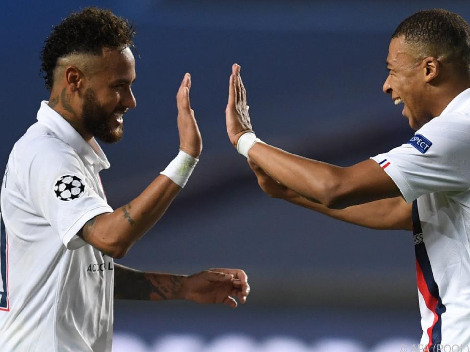 Neymar und Mbappe sind die Superstars bei PSG