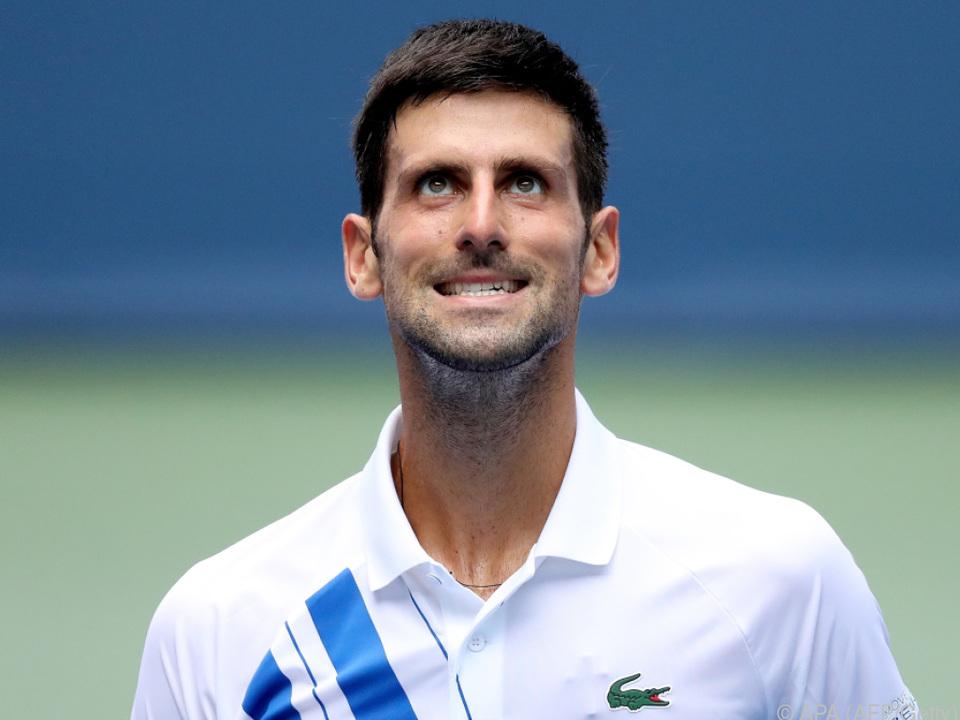 Novak Djokovic will \