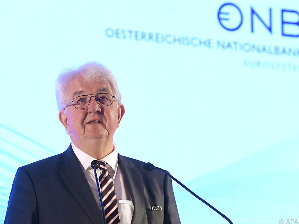 OeNB-Gouverneur Holzmann