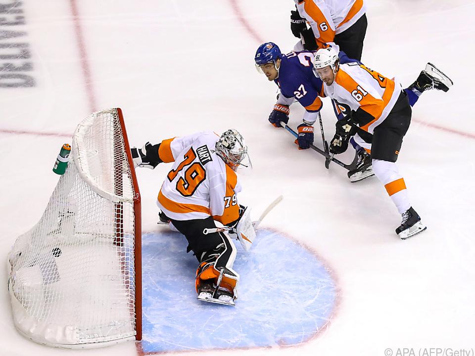 Philadelphia Flyers gerieten wieder in Rückstand