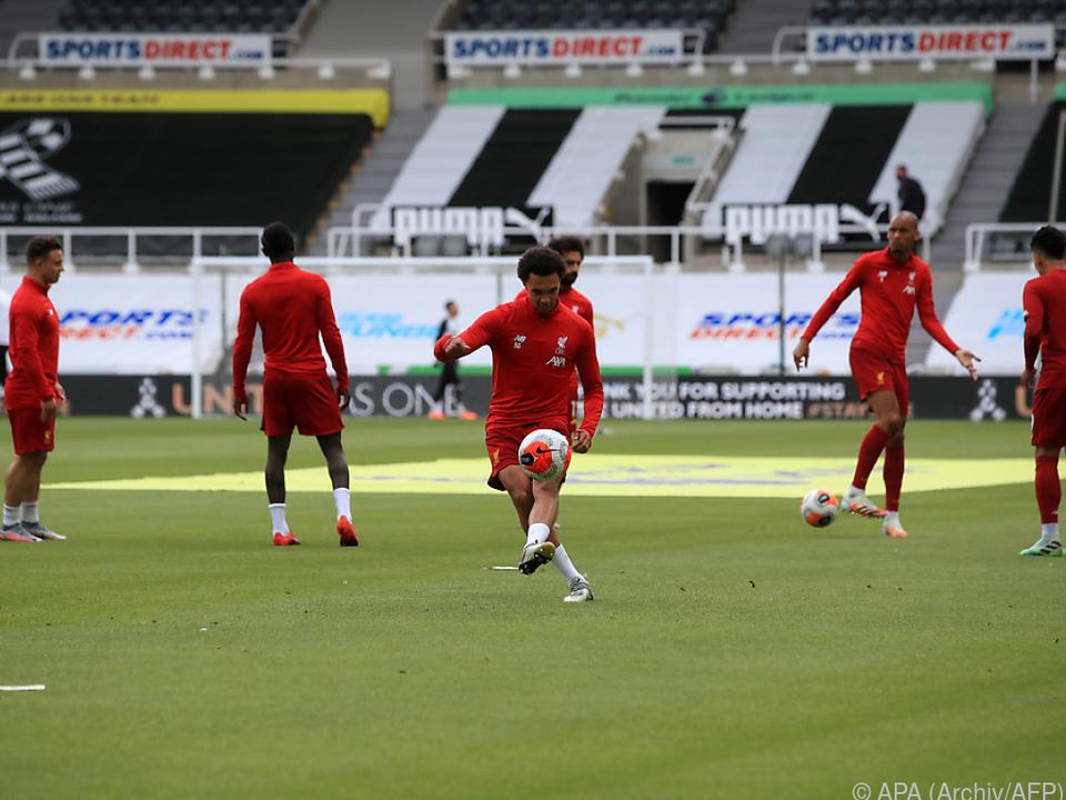 Positiver Test bei Team von Liverpool