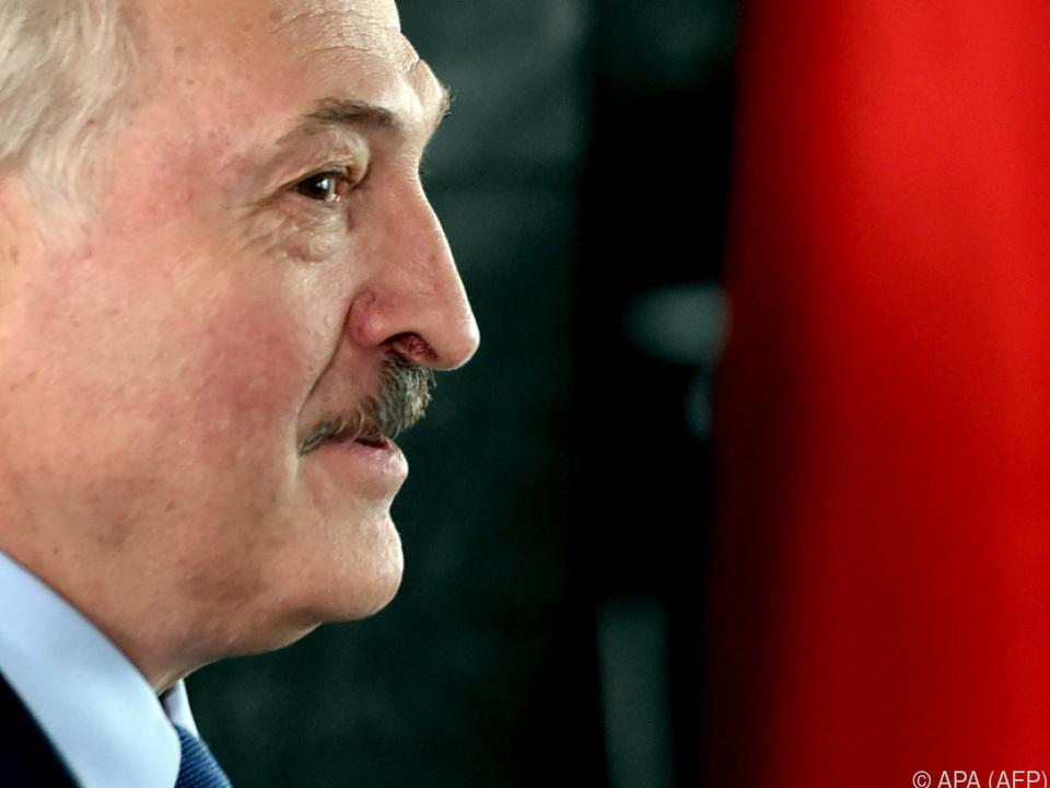 Präsident Lukaschenko steht in der Kritik