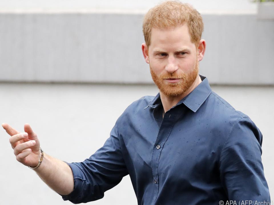 Prinz Harry spielt in Netflix-Doku mit
