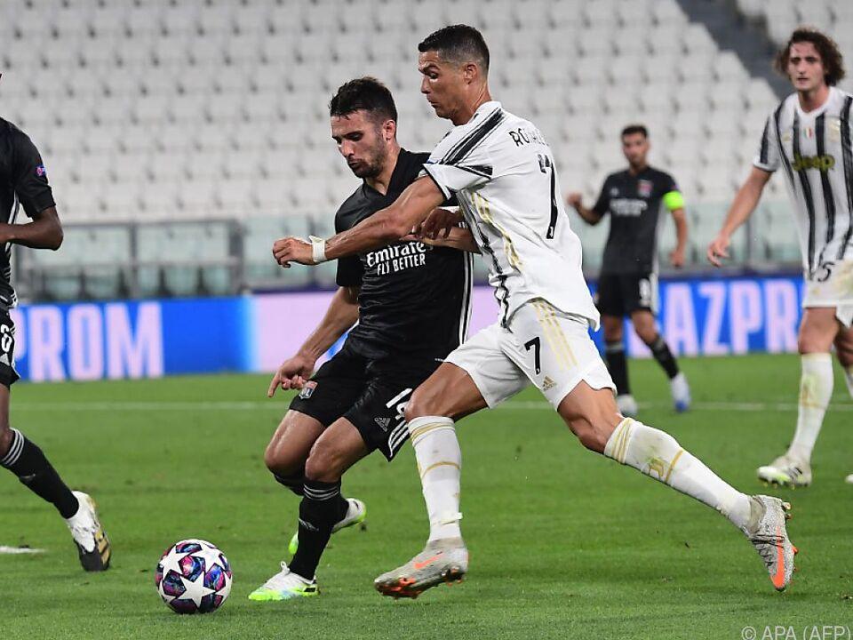 Ronaldo alleine war zu wenig - Lyon zitterte sich durch