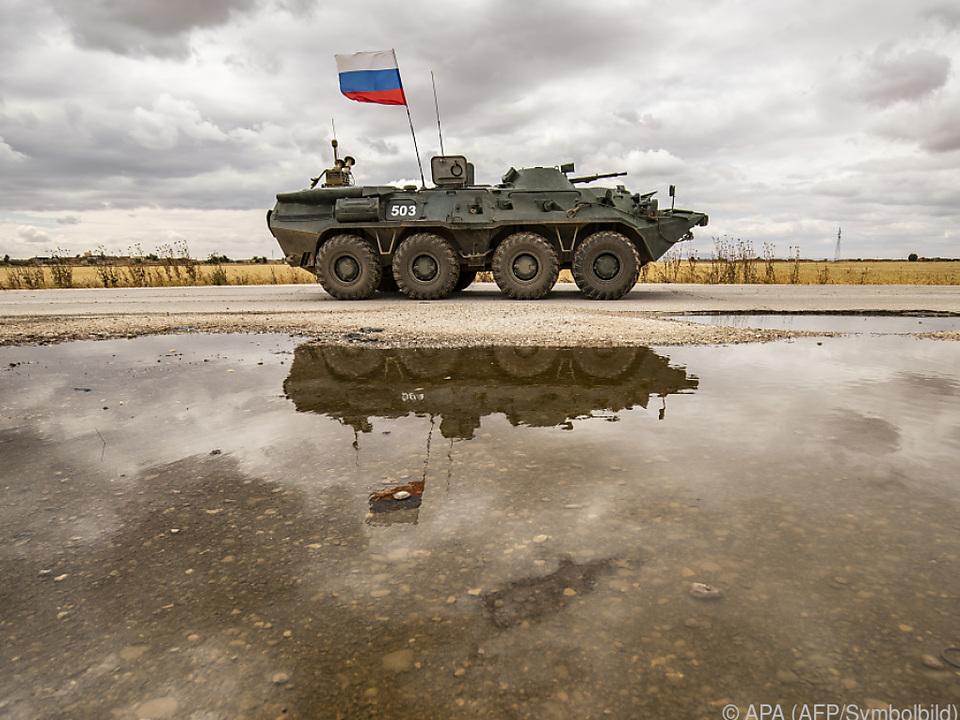 Russisches Fahrzeug soll US-Militärfahrzeug gerammt haben