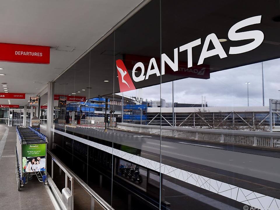 Schwere Zeiten auch für Qantas