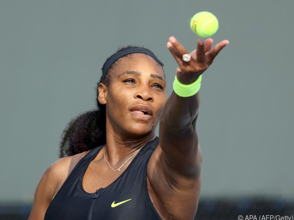 Serena Williams auf der Jagd nach Major-Titel Nummer 24