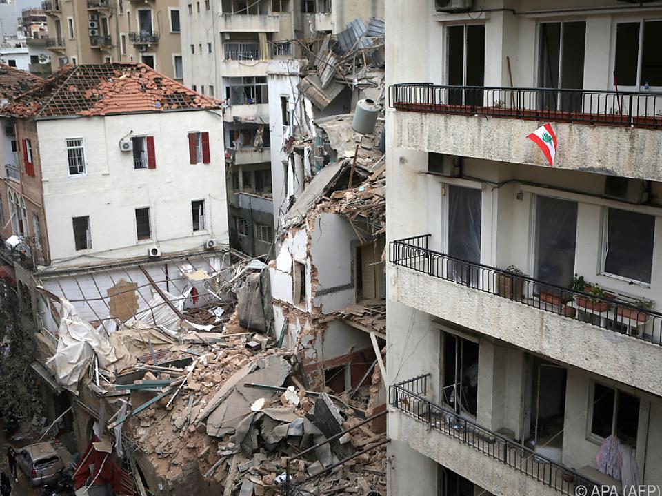 Soforthilfe für den Libanon