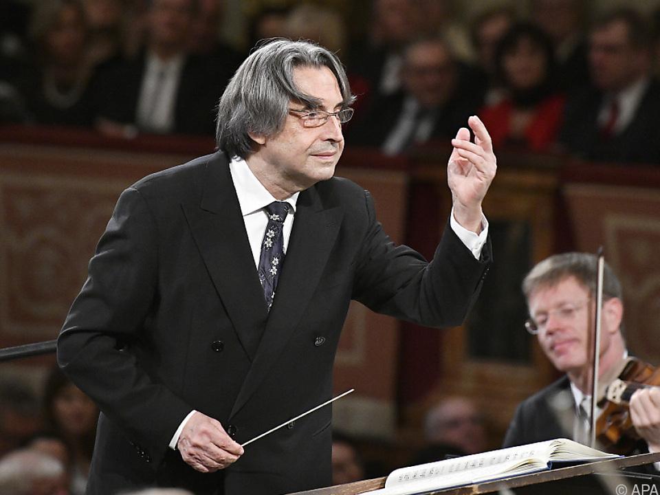 Stardirigent Riccardo Mut