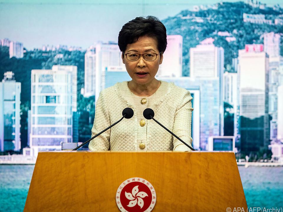 Strafmaßnahmen u.a. gegen Regierungschefin Lam