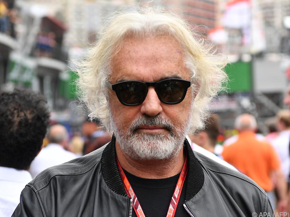 Streitbarer Ex-Formel-1-Manager Flavio Briatore
