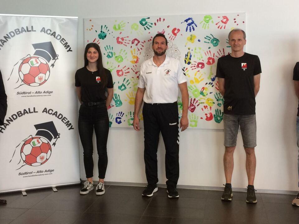 talento altoatesino in Danimarca - Südtiroler Handballtalent in Dänemark