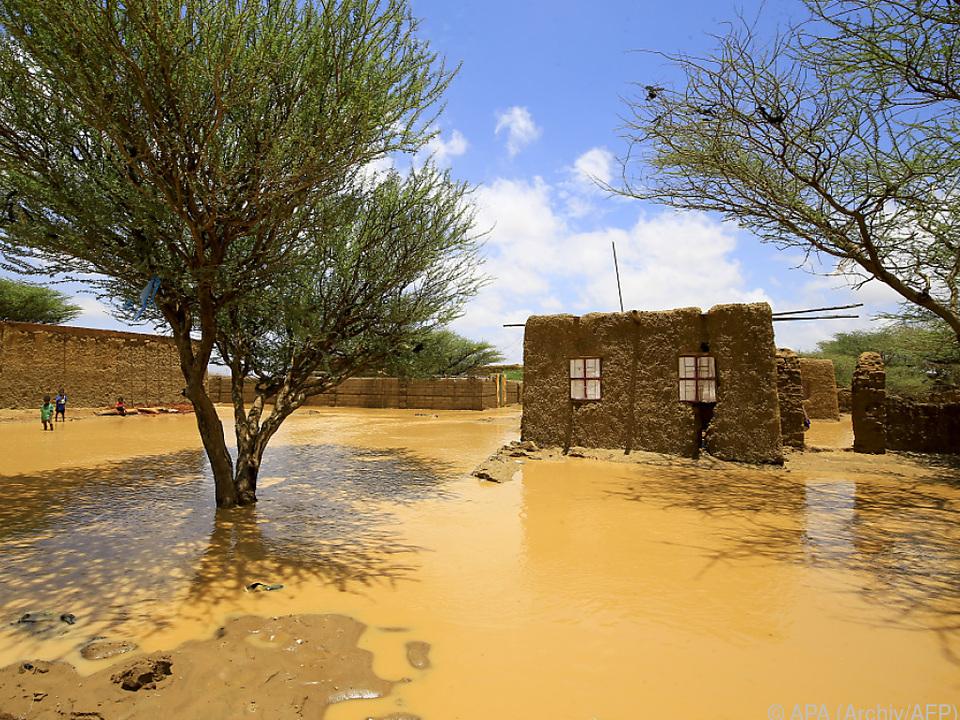 Tausende Häuser wurden durch die Fluten zerstört