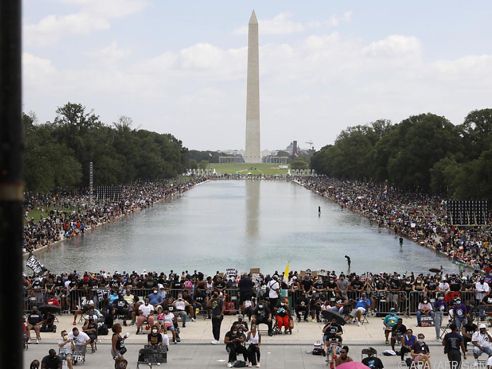 'Genug ist genug' Protest gegen Rassismus in Washington