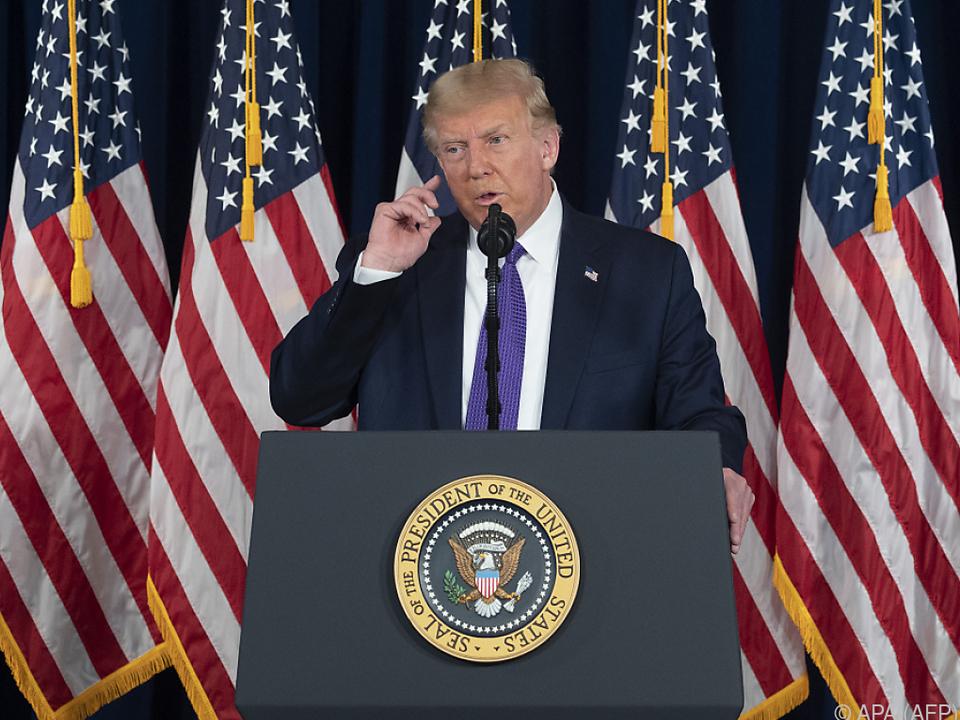 Trump geht weiter gegen den Iran vor