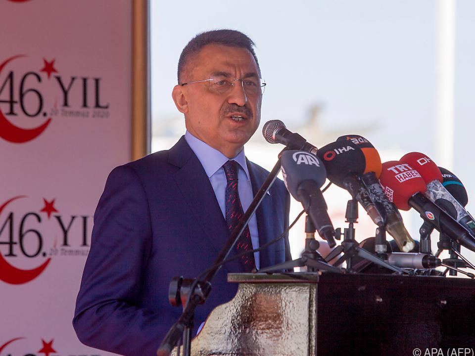 Türkischer Vizepräsident Oktay spricht von einem \