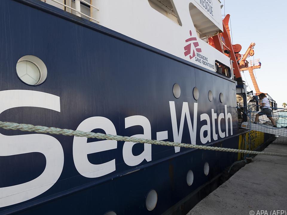 Unterstützung für die Hilfsorganisation Sea-Watch