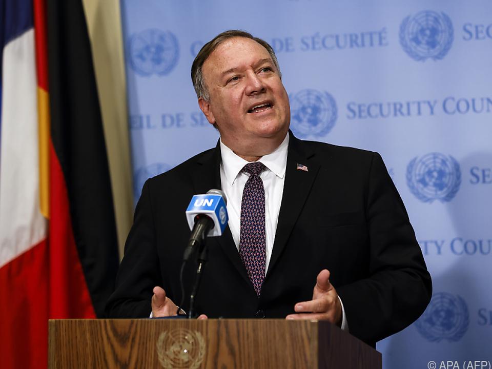 US-Außenminister Pompeo will die Iran-Sanktionen aktivieren