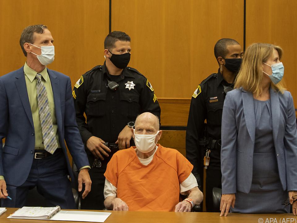 US-Serienmörder und Vergewaltiger Joseph DeAngelo vor Gericht