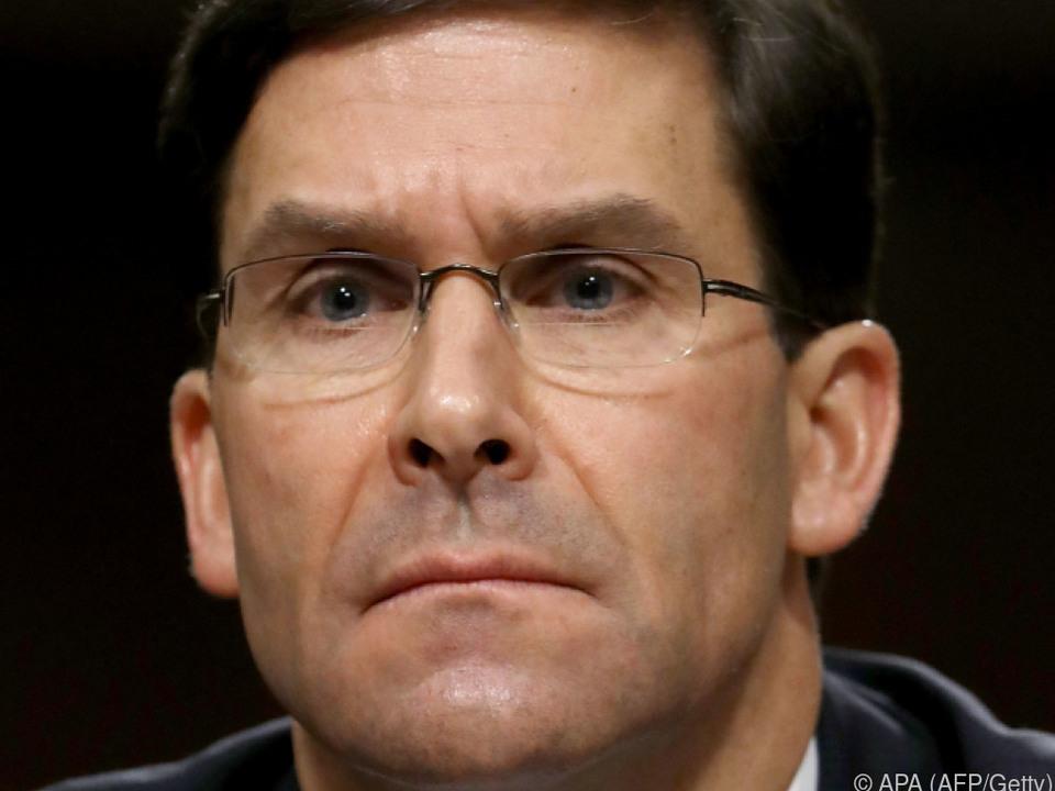 US-Verteidigungsminister Esper attackiert China scharf