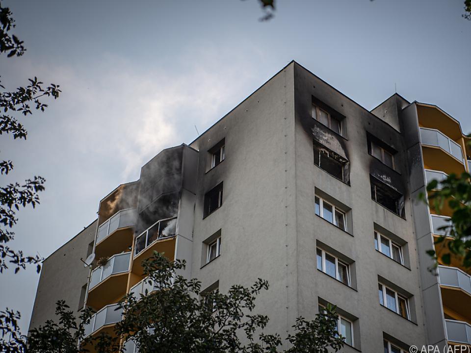 Verdächtiger soll Wohnung absichtlich in Brand gesteckt haben