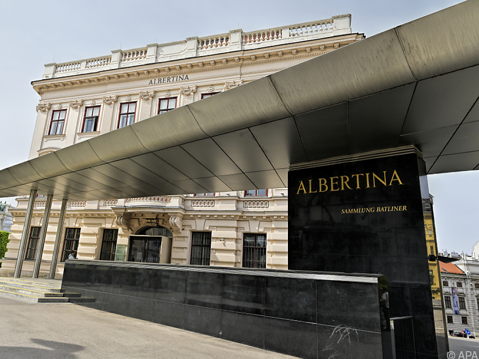 Verdichtetes Programm in der Albertina
