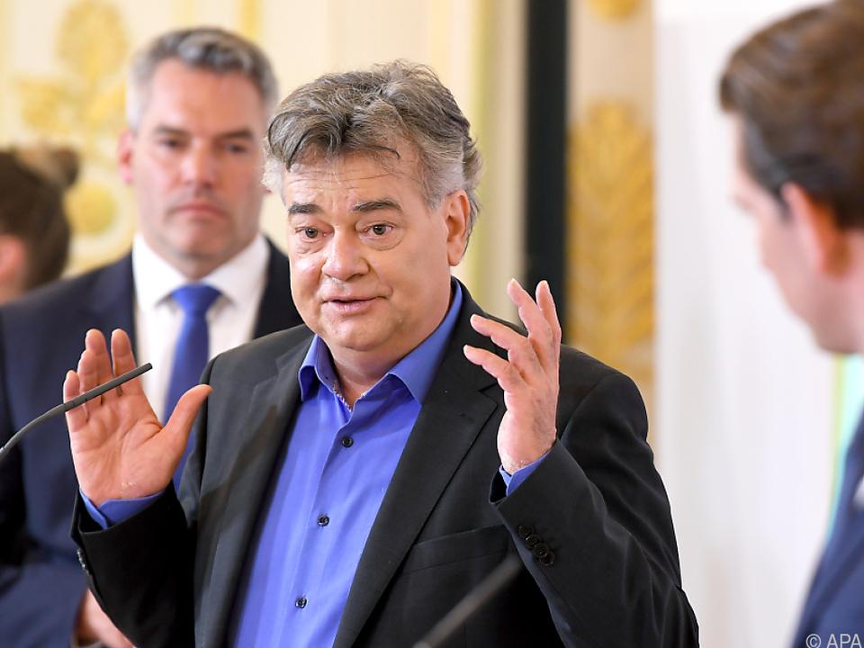 Vizekanzler Werner Kogler spricht ganz offen