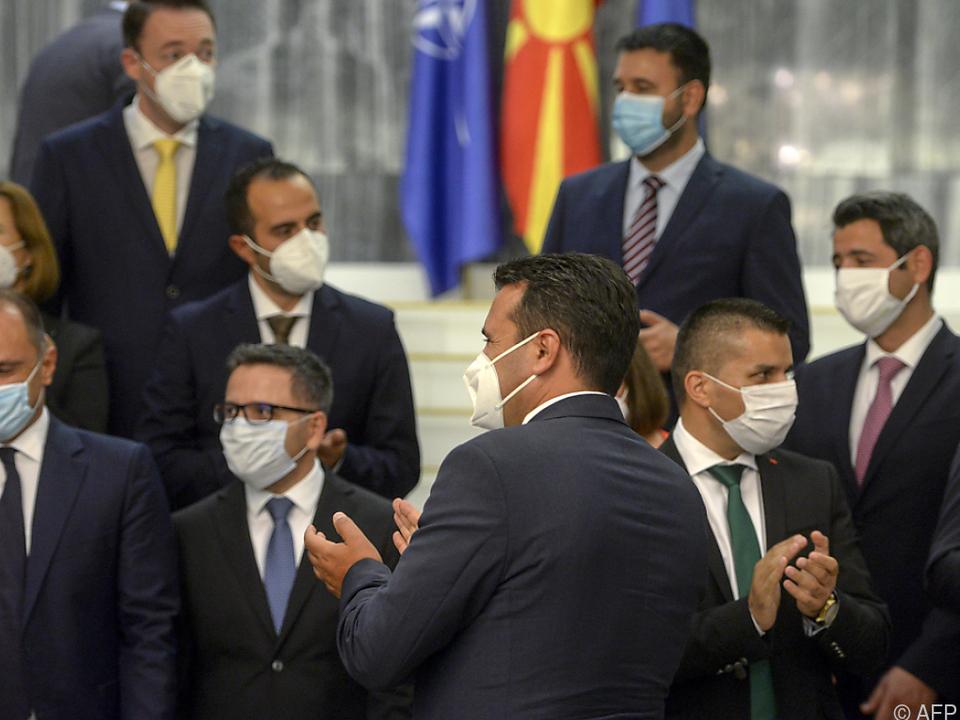 Wahl Zaevs zum Ministerpräsidenten Normazedoniens