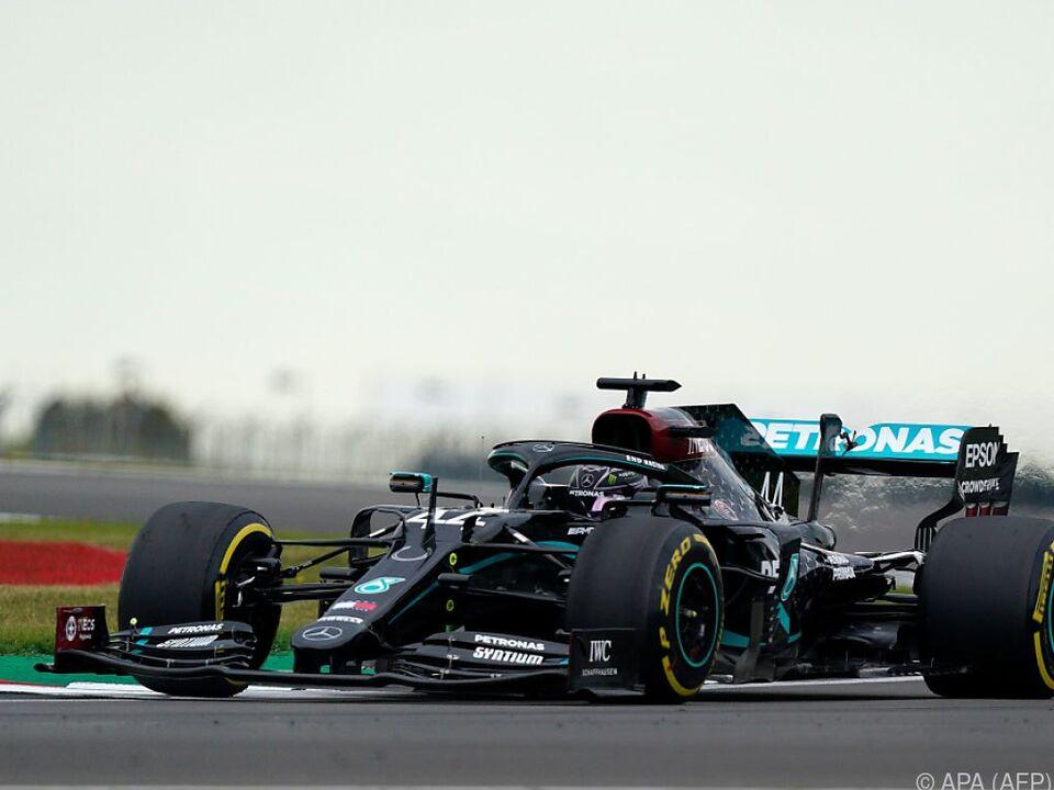 Weltmeister Hamilton war einmal mehr der Schnellste