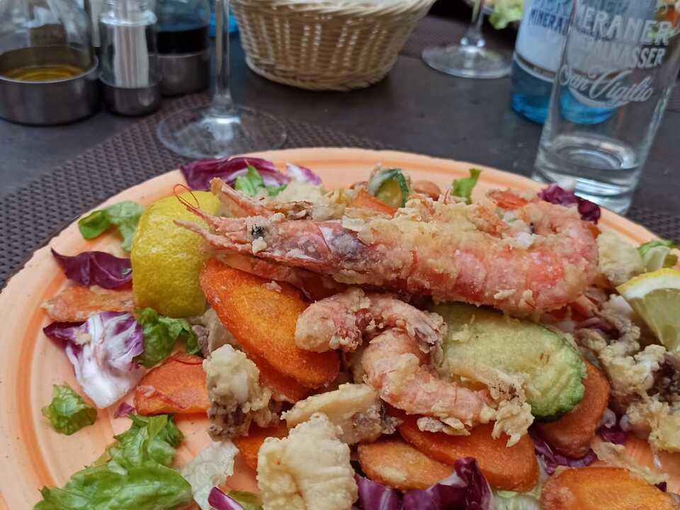 Frittura, Fisch