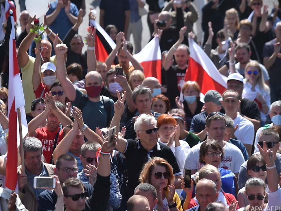 Wieder Proteste in Minsk